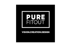 pure fitout logo