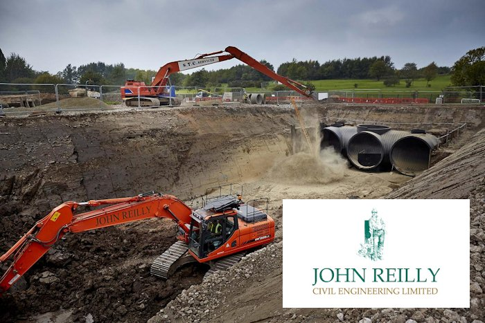 J Reilly construction project