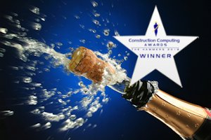 construction computing awards winner redsky it champagne