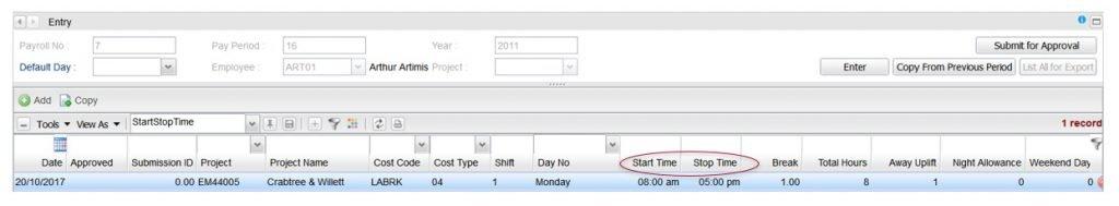 redsky it payroll software dashboard