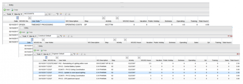 custom redsky it payroll software dashboard