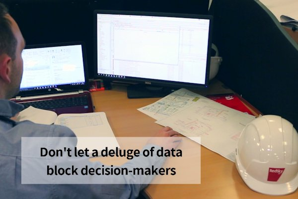 dont let data block decision making