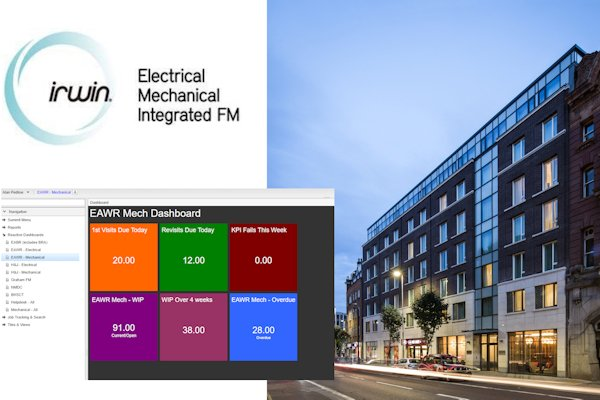 irwin electrical mechanical integrated FM building