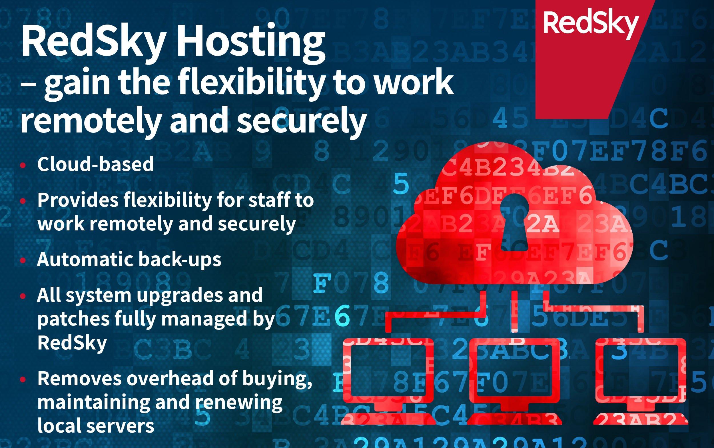 redsky hosting for flexibility