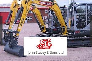 John Stacey Ltd plant digger