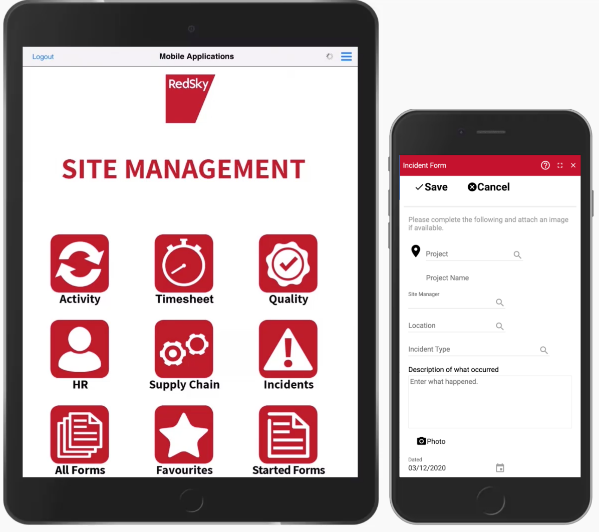 document management software on devices project connect